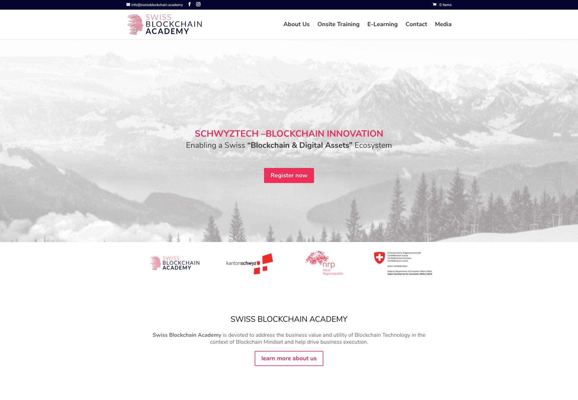 Swiss Blockchain Academy